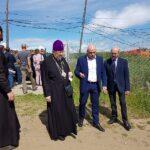 Прибыли представители русской православной церкви во главе с владыкой Пантелеимоном